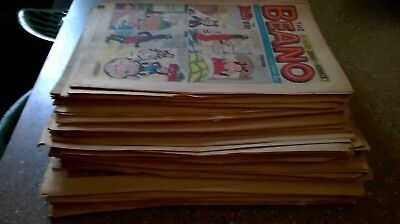 50 Beano comics from 1974..Including Christmas Issue