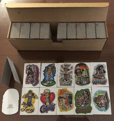 Little Lil Locos LL 2004 Vending Stickers Full Box Of 300 Peices