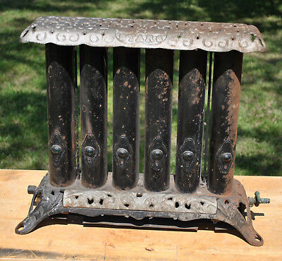 Antique Gas Stove Heater with Crystals Star 6 Radiator Style