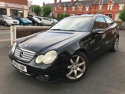 Mercedes Benz C220 2.1TD Auto Diesel 2006 CDI SE TRADE CLEARANCE PX TO CLEAR