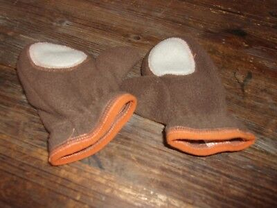 Boy's mittens. Old Navy. Brown. Size small