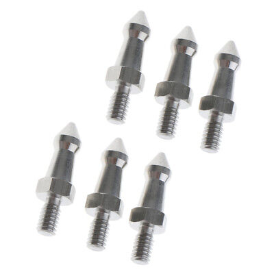 Selens Tripod Spike with Washers Set of 3 Stainless Steel Camera Spikes with 3//8 Screw Compatible with All Kinds of tripods and monopods
