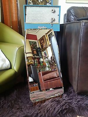 Vintage 1940s 50s Bevelled Edged free standing Dressing Table Mirror Art Deco.vg