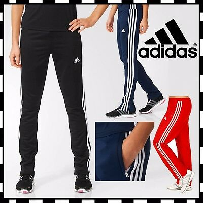 Adidas Tracksuit Bottoms T16 CLIMALITE Ladies Sweat Pants Womens Sports Running