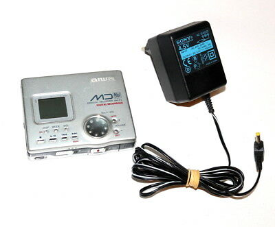 Aiwa AM-F5 Minidisc Recorder Player Walkman Mini Disc Walkmann