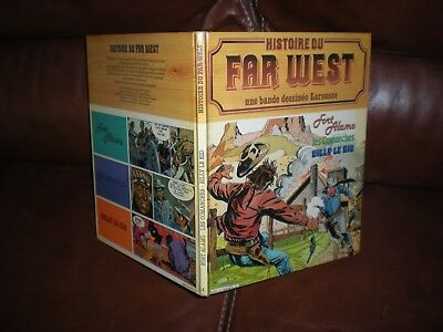 Histoire Du Far West En Bd N°4 - Edition Originale 1980 Larousse Cartonnee