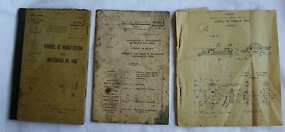 SNCF Anciens documents  de 1958