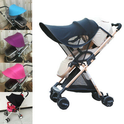 Portable Sun Shade Canopy UPF50+ FOR Buggy Pushchair Pram Sun Umbrella Car Seat