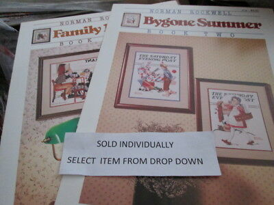 Dimensions/Stoney Creek Saturday Evening Post Cross Stitch Leaflet-Your Choice