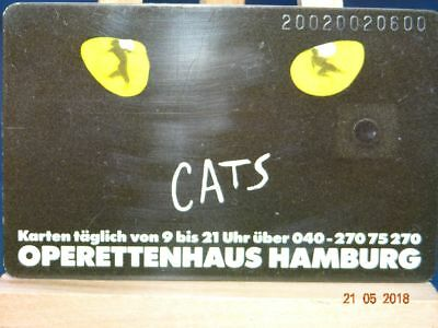 """S 05 C  12.89  Musical """"CATS""""  DD2002..."""