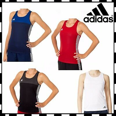 New Adidas T16 Tank Top Womens Girls Ladies Climacool Sport Running Training Gym