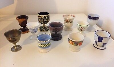 Vintage British Egg Cup Collection