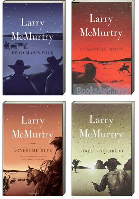 Lonesome Dove 1-4 Value Price Streets of Laredo+ by Larry McMurtry 4 Paperbacks