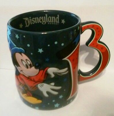 2013 Disney Company Beautiful Large Mickey Ceramic Mug Great For Any Collection!