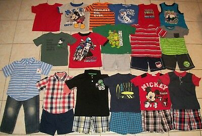 Boys Clothes/Outfits Lot of 26 Size 4T Summer