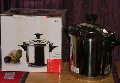Lacor-71871- CLASSIC BRIDGE PRESSURE COOKER - Huge 10 Litre capacity