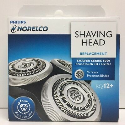 (New) Philips Norelco Series 8000 Shaving Head Replacement RQ12+