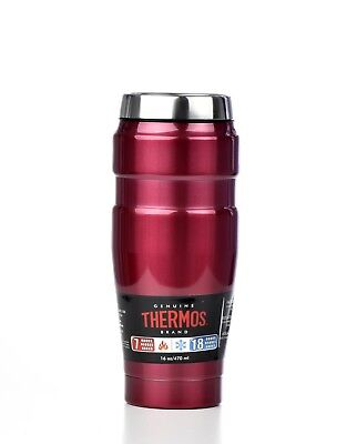 New Thermos Stainless King 16 Ounce Travel Tumbler Sk1005Rstri4