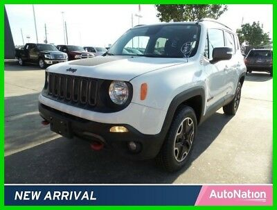 Jeep Renegade Trailhawk 2017 Trailhawk Used Certified 2.4L I4 16V Automatic Four Wheel Drive SUV Premium