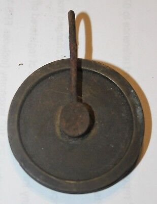 "Longcase Clock Line Pulley / Grandfather Clock Line Pulley 1.75"" diameter"