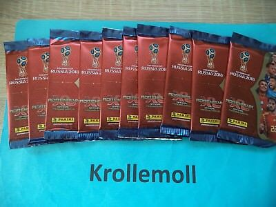 Adrenalyn XL 2018 World Cup Russia 25 Booster Packs Tütchen wie Display