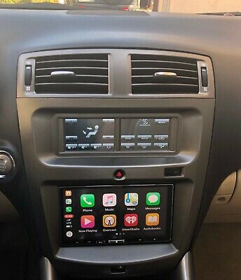 Car Radio Stereo Double Din Dash Install Kit Harness 2006-13 Lexus IS250 IS350