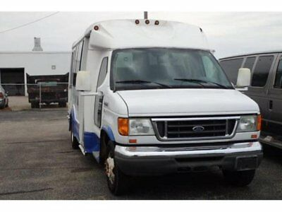 2007 Ford E-Series Van Commercial Cut away