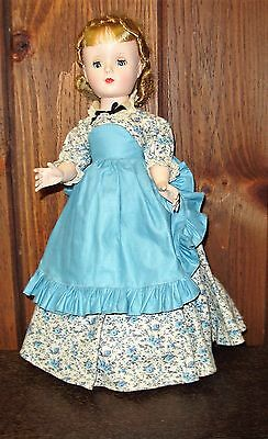 Vintage Madame Alexander doll Meg from Little Women Collection 1948-1954 stand