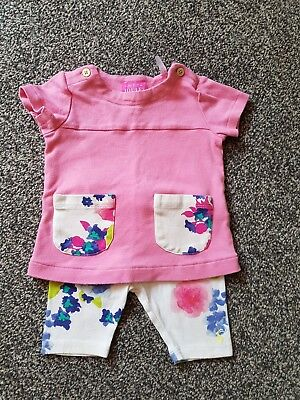Joules 6-9 months girls outfit.