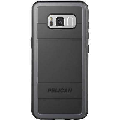 New PELICAN Protector Military Cover Case for Galaxy S8 Plus  S8+ Black/ Gray