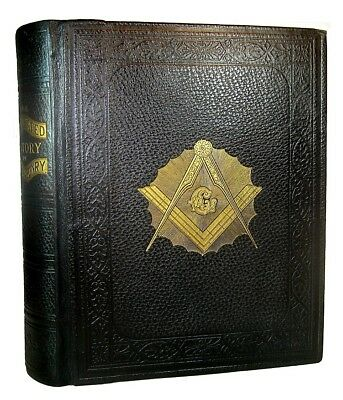 FREEMASONRY MASONIC Antique HISTORY 1907 ILLUSTRATED KNIGHTS TEMPLAR OCCULT BOOK