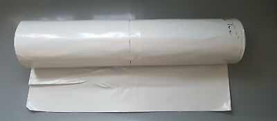 4m White Polythene Sheeting Insulation Films  0.2 and 0.3 Thickness