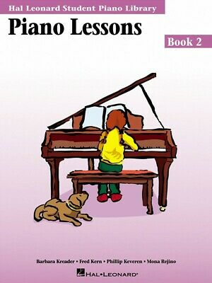 New HLSPL Piano Lessons Book 2 - Hal Leonard Student Piano Library