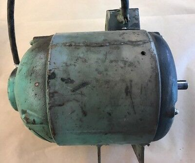 Delta Unisaw Bullet Vintage Repulsion Induction Motor Single phase 1 HP