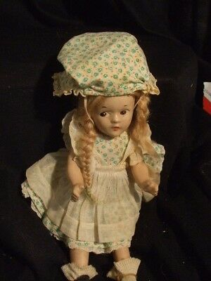 Mme Alexander McGuffey Ana 9 In. Composition Doll Dress w Tag