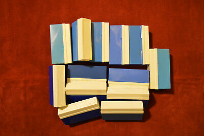 Job Lot of 13 Vintage 35mm Photographic Slide Storage Boxes, Assorted Sizes.