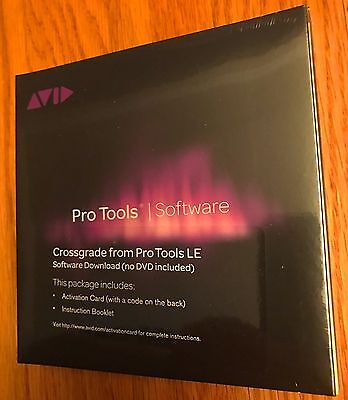 Avid Pro Tools LE Crossgrade Pro Tools 10 /11/ 12  2018 1 YR Support + Upgrades
