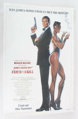 1985 A View To Kill Movie Poster One Sheet NS 850004