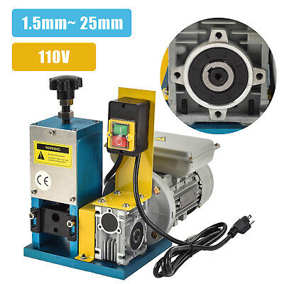 Powered Electric Portable Wire Stripping Machine Metal Tool Scrap Cable Stripper
