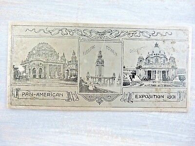 HISTORICAL BLOTTER Vintage PAN-AMERICAN (Airline) EXPOSITION 1901