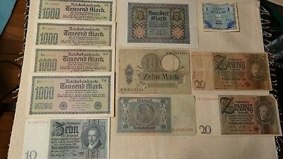 16 German Vintage Currency Note, 2 - 1935 Ah Coins
