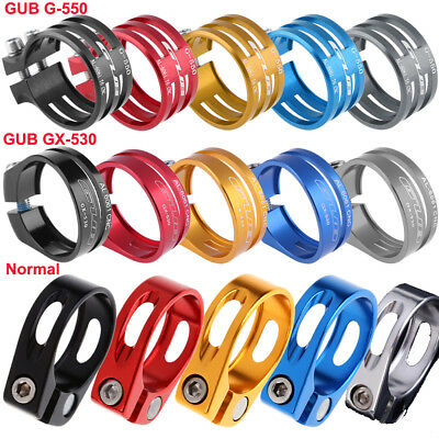 34.9mm Aluminum Alloy MTB Bike Bicycle Cycling Saddle Seat Post Clamp New N#S7