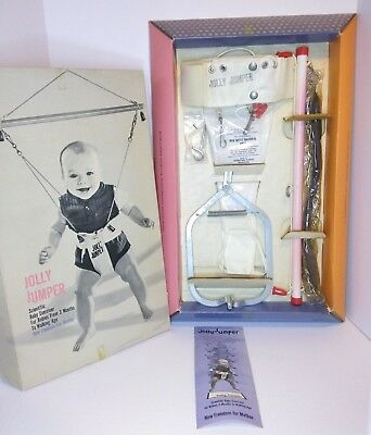 New Vintage Jolly Jumper The Scientific Baby Exerciser in Box NOS Old Stock