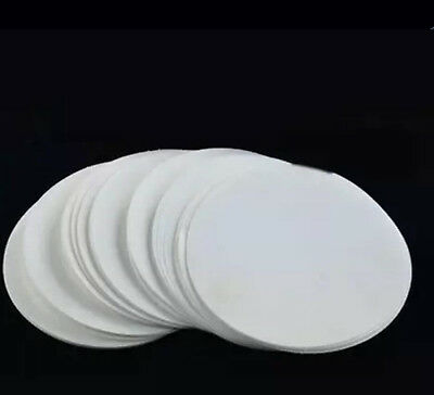100pc 15cm Qualitative filter paper 103 Slow speed filter paper Oil filter paper