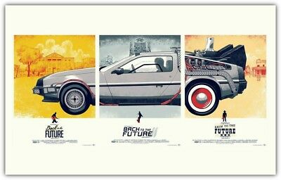 New Back to the Future Silk Wall Poster Size : 24x36 inches Free Shipping