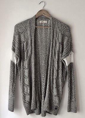 New Without Tags Grey Hollister Co Cardigan And White Sweater Size Small