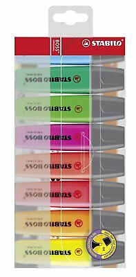 Color Highlighter Marker Refillable Water Based Waller Case Anti Dry Out Shade