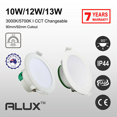 10W 12W 90mm Cutout LED Downlight Warm /Cool Daylight CCT Dimmable &Non Dim IP44