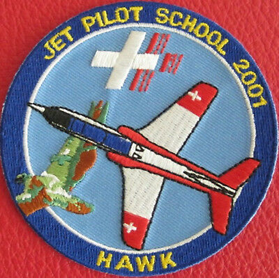 Swiss Air Force Original PILOTENSCHULE 2001 HAWK