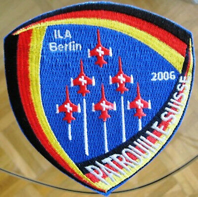 SWISS AIR FORCE PATROUILLE ILA Berlin 2006 ORIGINAL